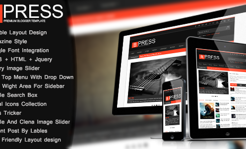 Bpress-New-Responsive-Magazin-Blogger-Template