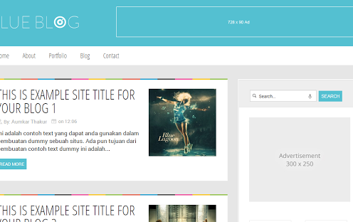 BlueBlog-Blogger-Templates