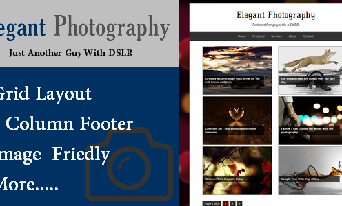 Elegant-Photography-Blogger-Template