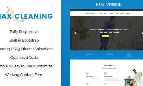 max-clean-cleaning-business-html-template
