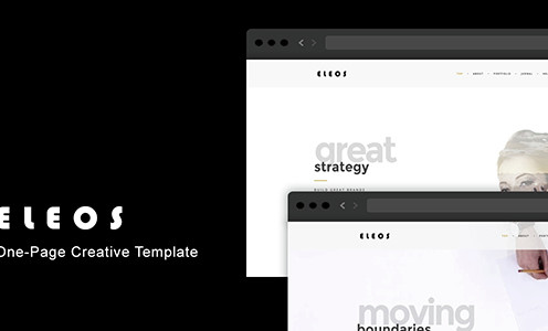 eleos-one-page-creative-template