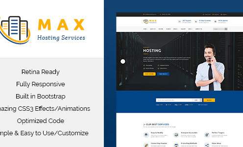 max-hosting-responsive-hosting-html-template